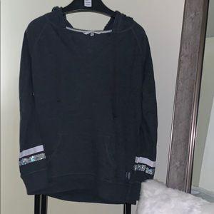 Victoria's Secret gray sweatshirt